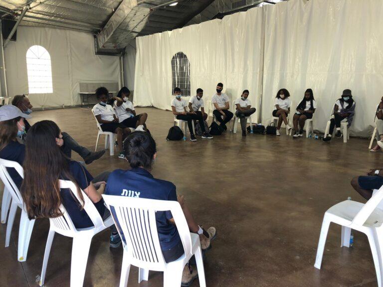 פעילות במרכז הארצי לפיתוח מנהיגות באריאל