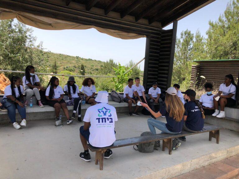 פעילות משותפת של שני סניפי התנועה פתח תקווה וסניף נתניה במרכז הארצי למנהיגות 'אריאל'