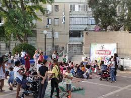 פעילות מדריכי התנועה עם ילדי שכונת יוספטל בפתח תקווה
